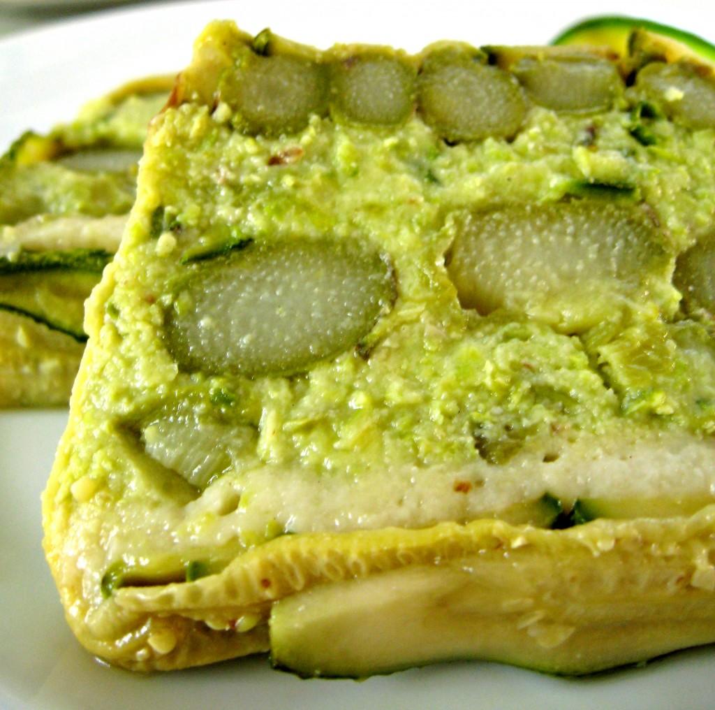 mattonella zucchine e asparagi