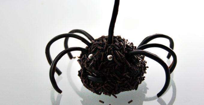 Happy Halloween!! Chocolate spider