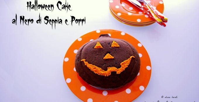 Sembra dolce ma non è…..Halloween cake al nero di seppia