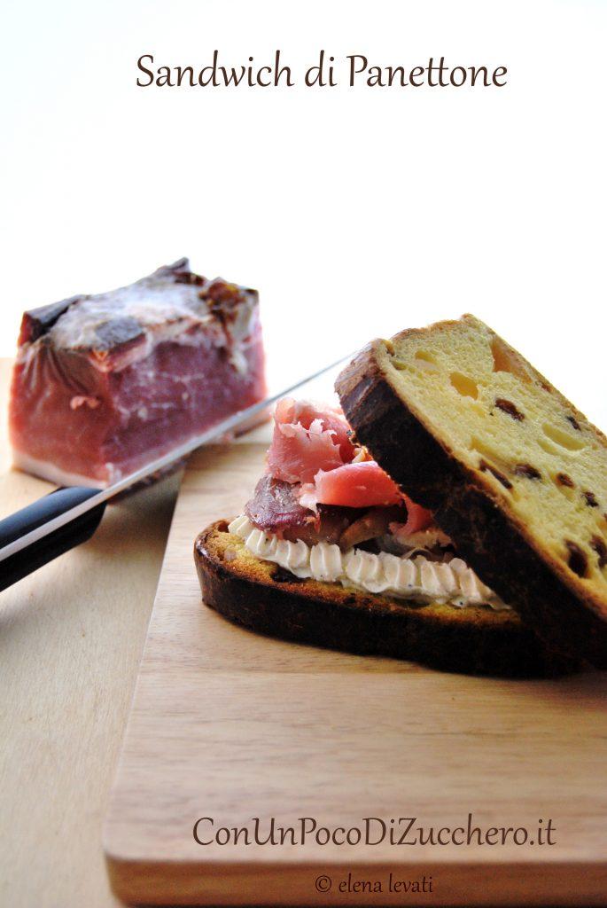 Panettone Sandwich