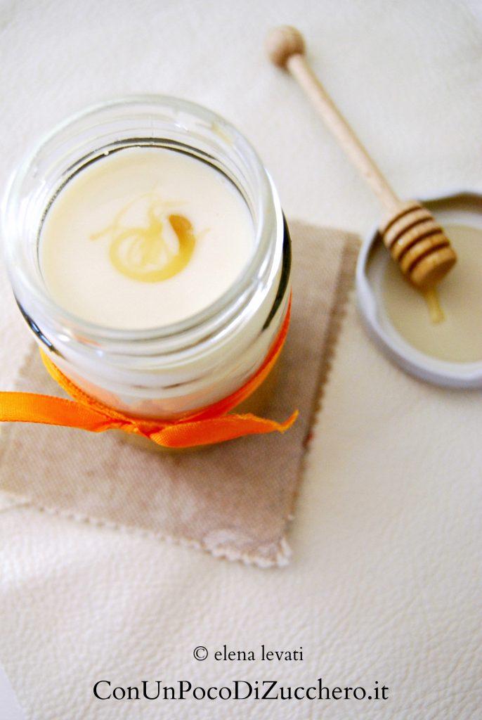 crema di cachi e yogurt