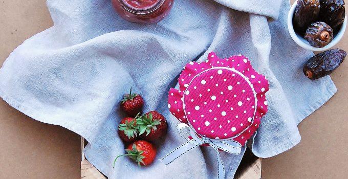 Confettura di fragole senza zucchero