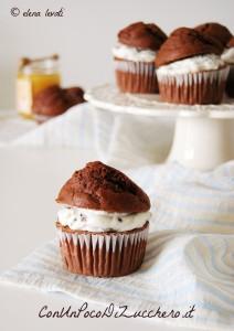 Honey and chocolate muffins 3