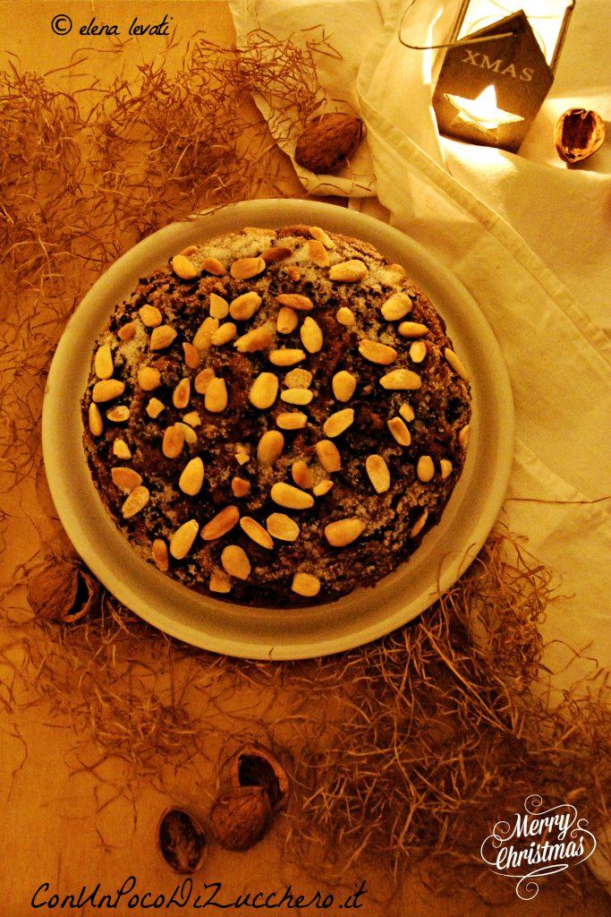 Torta noci, mandorle e cioccolato br 2