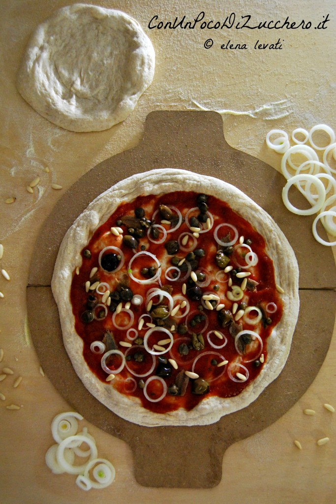 Pizza mediterranea