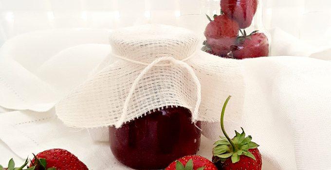 Confettura di fragole con metodo Ferber