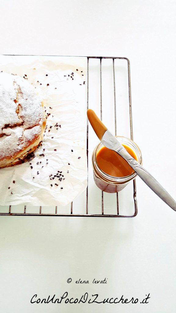 torta di ricotta e dulce de leche 2