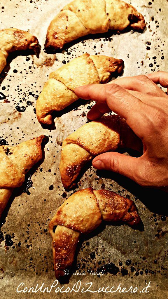 mini croissant alla ricotta 2 br