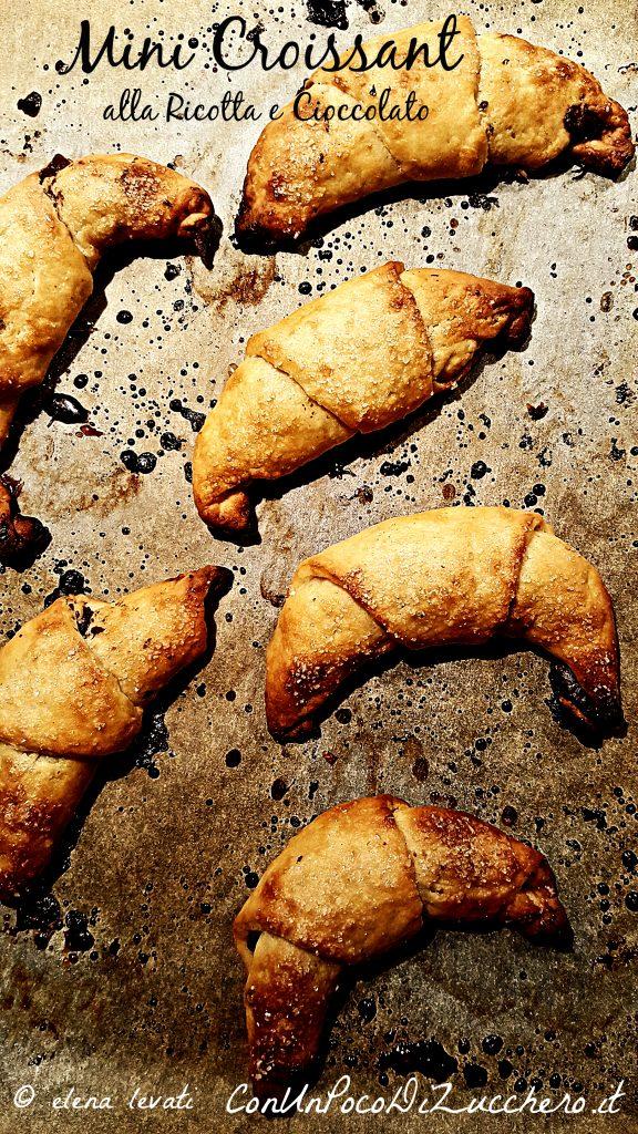 mini croissant alla ricotta br