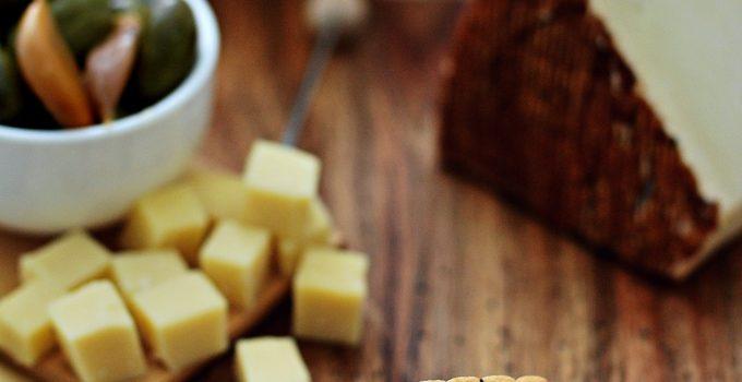 mini crackers veloci al formaggio